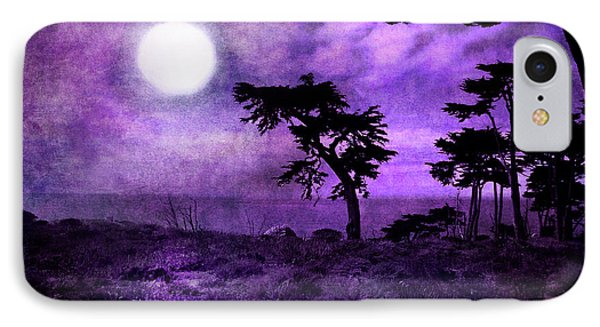 Cypress Trees At Sutro Heights IPhone Case by Laura Iverson