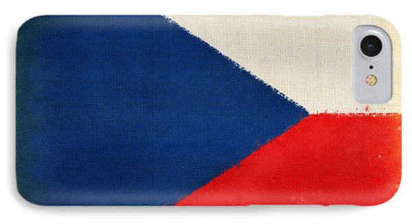 Czech Republic Flag Phone Case by Setsiri Silapasuwanchai