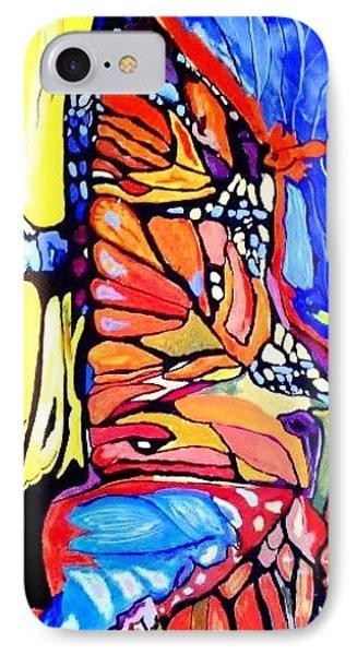 Butterflies Wings  IPhone Case by Sandra Lira