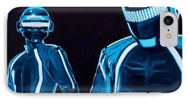 Daft Punk Phone Case by Ellen Patton