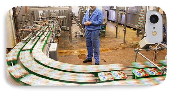 Dairy Factory Production Line Phone Case by Ria Novosti