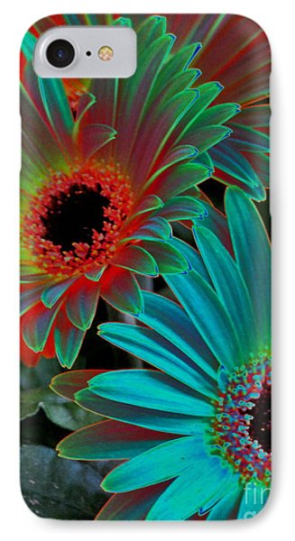 Daisies From Another Dimension IPhone Case by Rory Sagner
