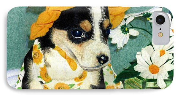 Daisy-mae Dawg IPhone Case by Ana Tirolese