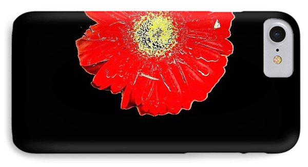IPhone Case featuring the photograph Daisy Reflection by Carolyn Repka