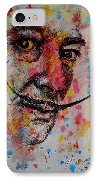 Dali IPhone Case by Lynn Hughes