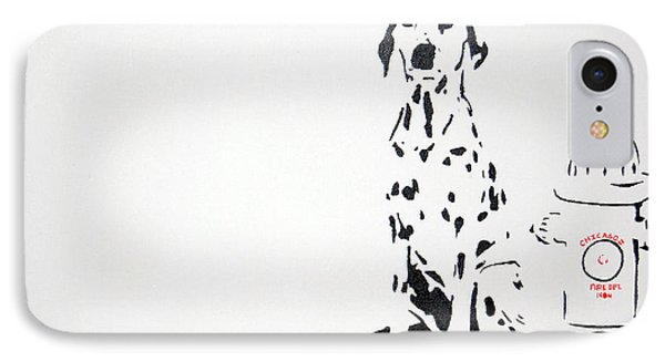 Dalmatian Phone Case by Michael Ringwalt