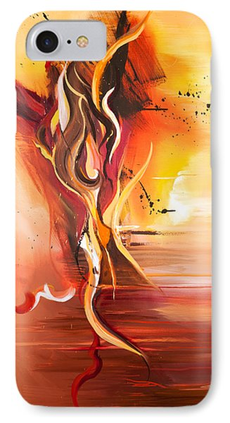 Dance Of Passion IPhone Case by Michelle Wiarda