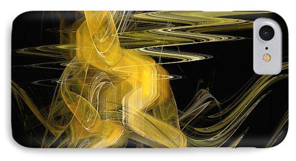 Dance Of Waves IPhone Case by Sipo Liimatainen