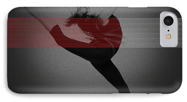 Dancer IPhone Case by Naxart Studio