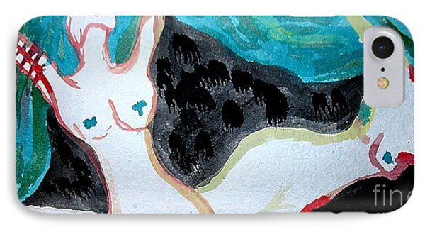 IPhone Case featuring the painting Dancing by Amy Sorrell