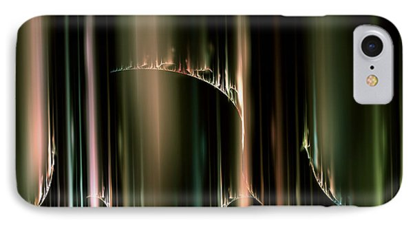 Dancing Auroras Curtains In The Sky IPhone Case