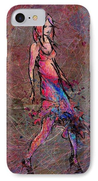 Dancing The Nights Phone Case by Rachel Christine Nowicki
