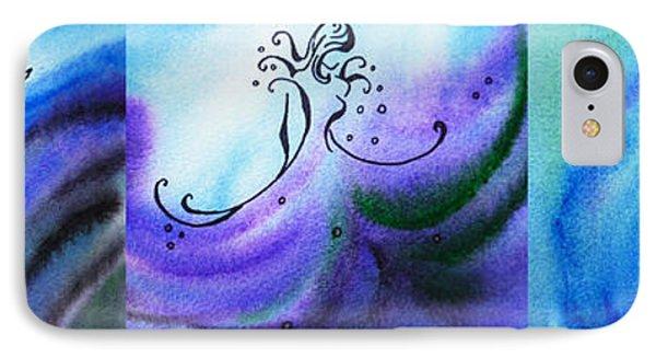 Dancing Water Vi IPhone Case by Irina Sztukowski