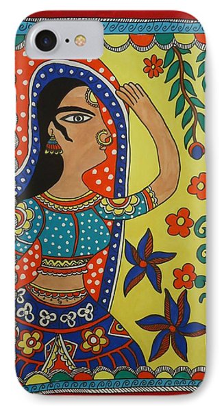 Dancing Woman IPhone Case by Shakhenabat Kasana