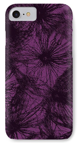 Dandelion Abstract Phone Case by Ernie Echols