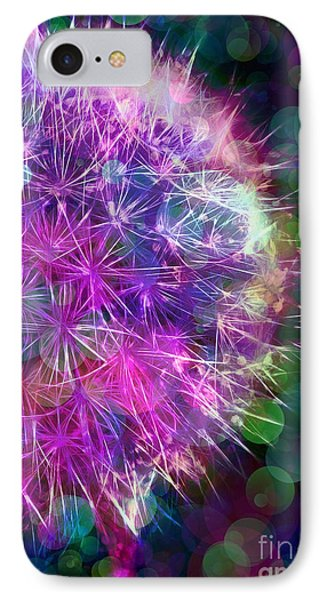Dandelion Party Phone Case by Judi Bagwell