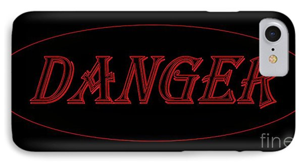 Danger Phone Case by Dale   Ford