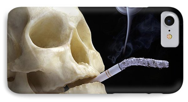 Dangers Of Smoking, Conceptual Image Phone Case by Victor De Schwanberg