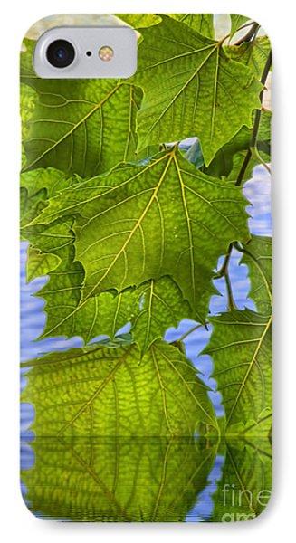 Dangling Leaves Phone Case by Deborah Benoit