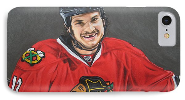 Daniel Carbomb Carcillo IPhone Case by Brian Schuster
