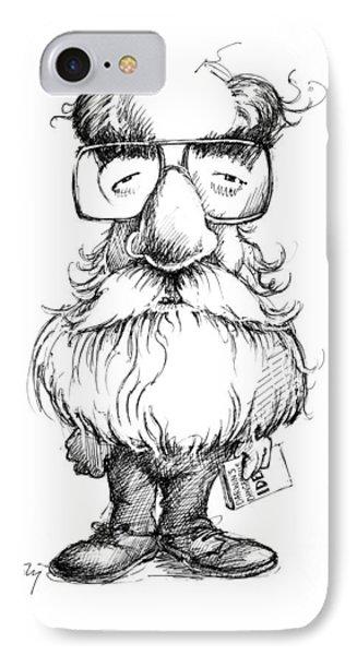 Daniel Dennett, Us Cognitive Scientist Phone Case by Gary Brown