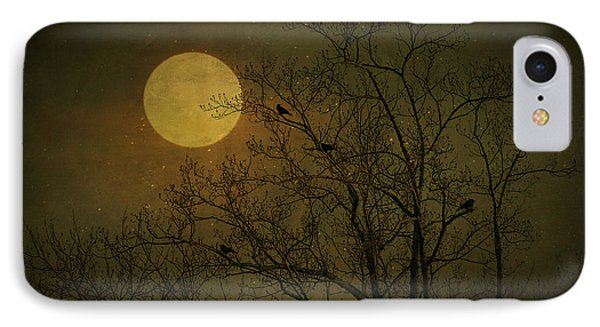 IPhone Case featuring the photograph Dark Moon by Robin Dickinson