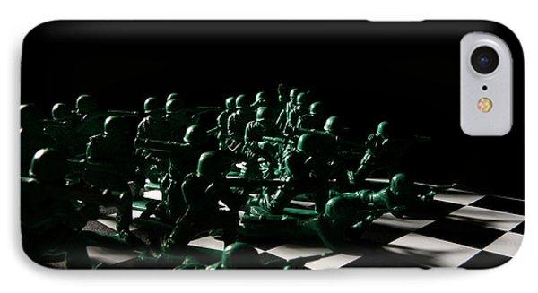 Dark Squares Phone Case by Lon Casler Bixby