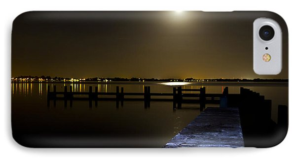Darkness On The Bradenton Bay Phone Case by Nicholas Evans