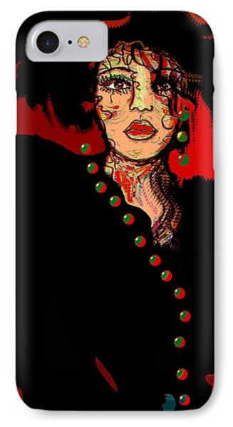 Date Night Phone Case by Natalie Holland