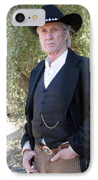 David Carradine Phone Case by Nina Prommer