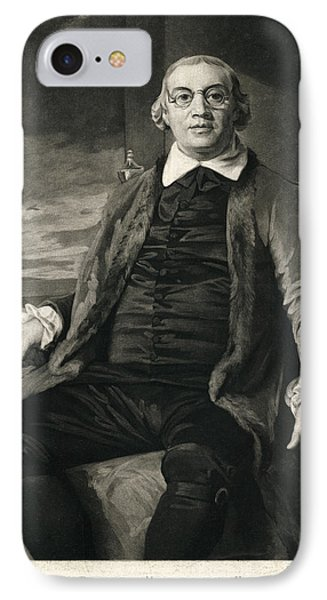 David Hartley, English Diplomat IPhone Case