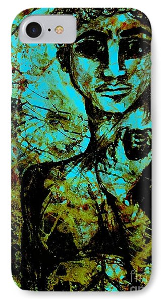 IPhone Case featuring the painting David Ll by Amy Sorrell