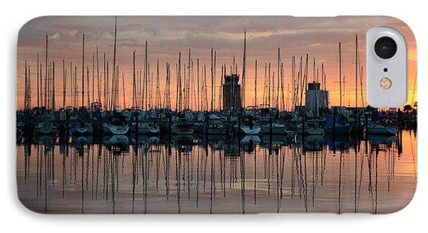 Dawn At The Marina IPhone Case