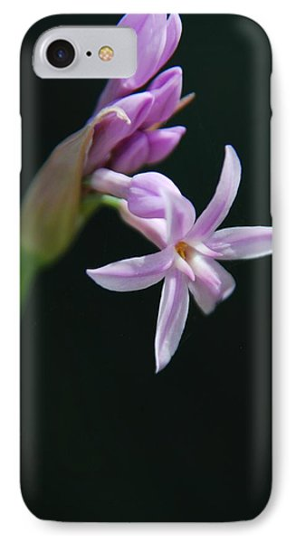 IPhone Case featuring the photograph Flowering Bud by Tam Ryan