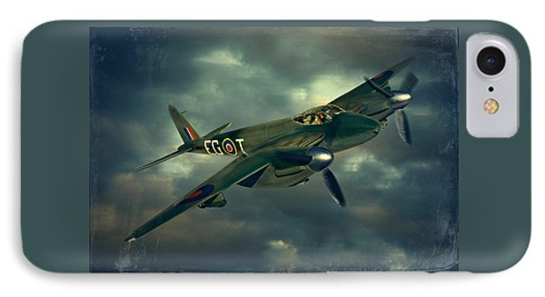 IPhone Case featuring the photograph De Haviland Mosquito by Steven Agius
