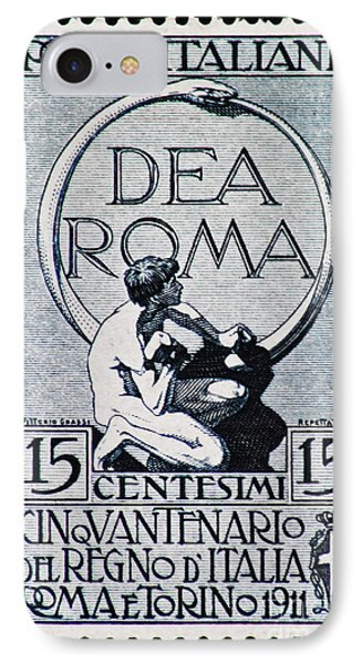 IPhone Case featuring the photograph Dea Roma by Andy Prendy
