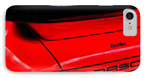 IPhone Case featuring the photograph Dead Red Turbo by John Schneider