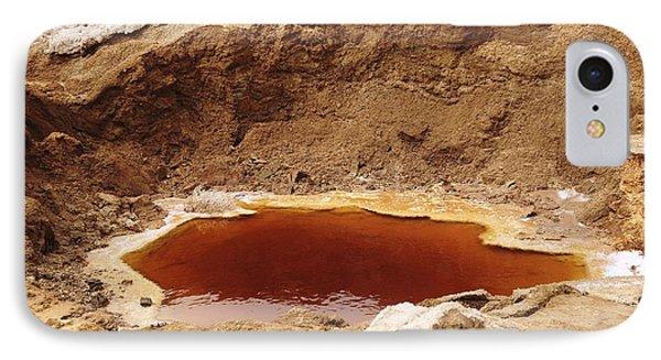 Dead Sea Sinkhole Phone Case by Photostock-israel