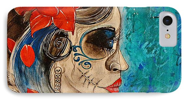 Deadly Sweet Phone Case by Sandro Ramani