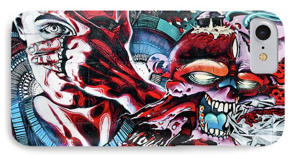 Death And Life Phone Case by Yurix Sardinelly