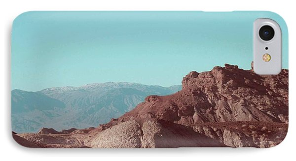 Death Valley Mountains IPhone Case
