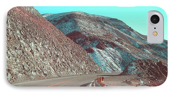 Death Valley Road 2 IPhone Case by Naxart Studio