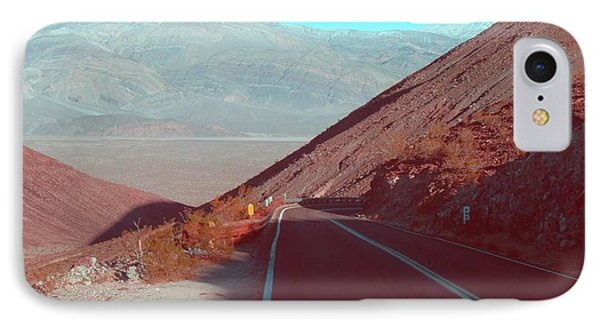 Death Valley Road 3 IPhone Case by Naxart Studio