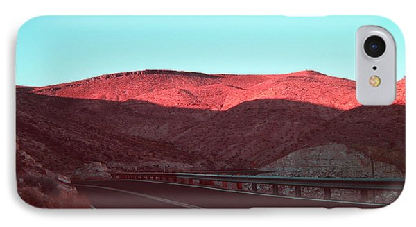 Death Valley Road 4 IPhone Case by Naxart Studio