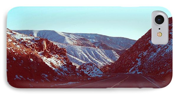 Death Valley Road IPhone Case by Naxart Studio