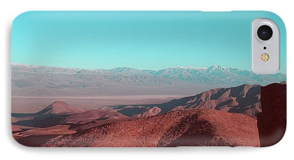 Death Valley View 1 IPhone Case by Naxart Studio