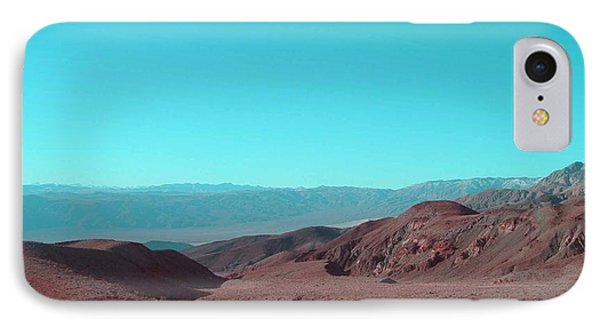 Death Valley View IPhone Case by Naxart Studio