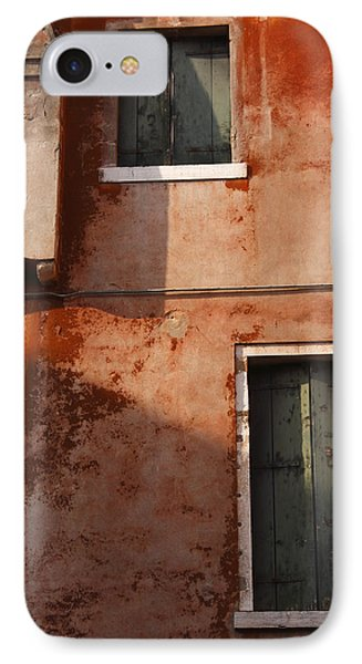Decayed Facade Of A Building Venice Phone Case by Trish Punch