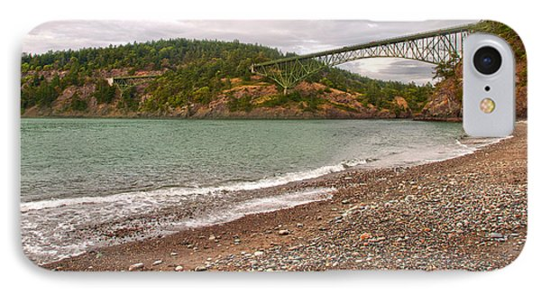 Deception Pass Washington Phone Case by Artist and Photographer Laura Wrede