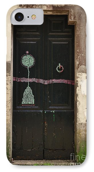 Decorated Door Phone Case by Mary Machare